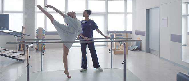 Dancer and nurse