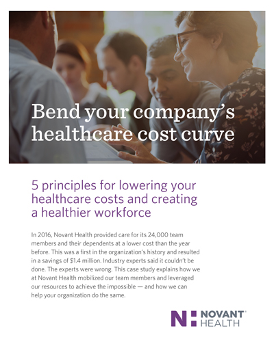 Bend your company's healthcare cost curve