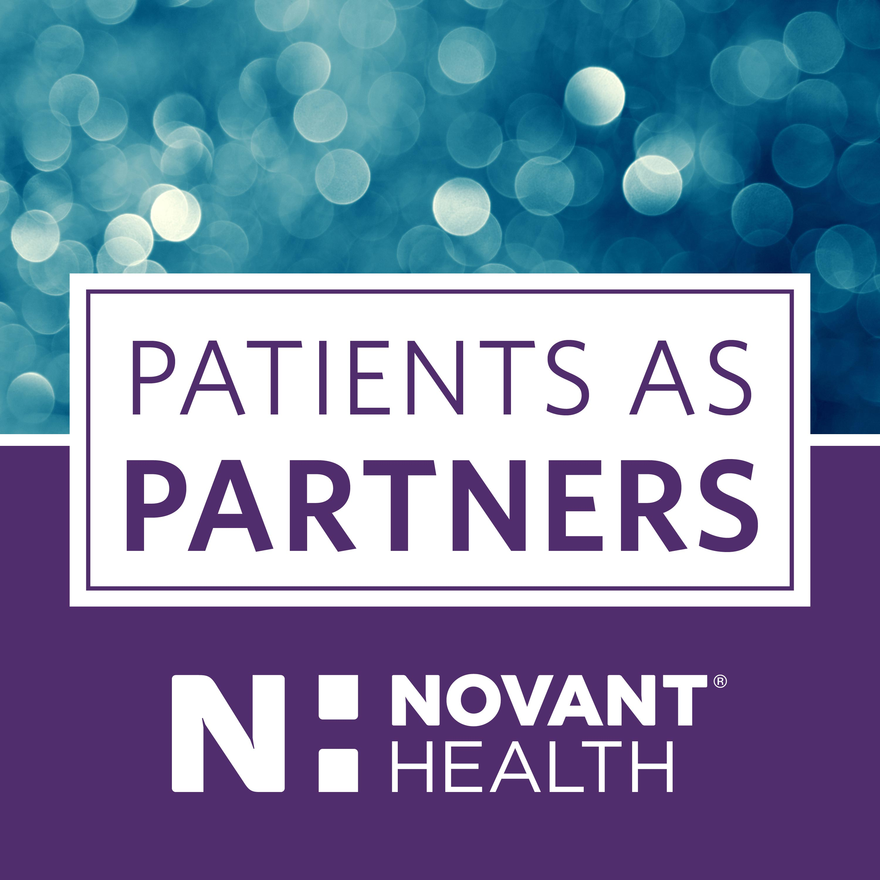 Novant Health Patients as partners podcast