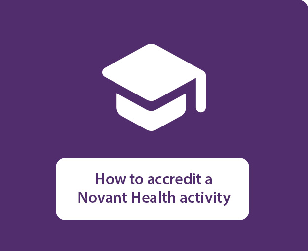 How to accredit a Novant Health activity