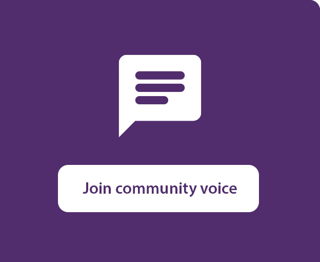 Join community voice
