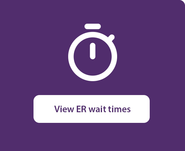 View ER wait times