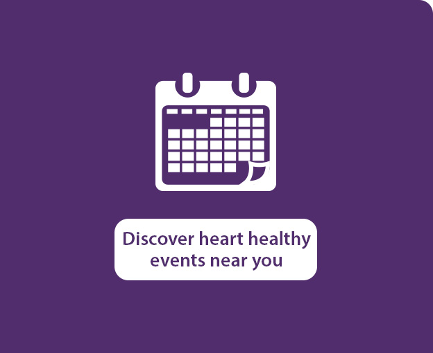 Discover heart healthy events near you
