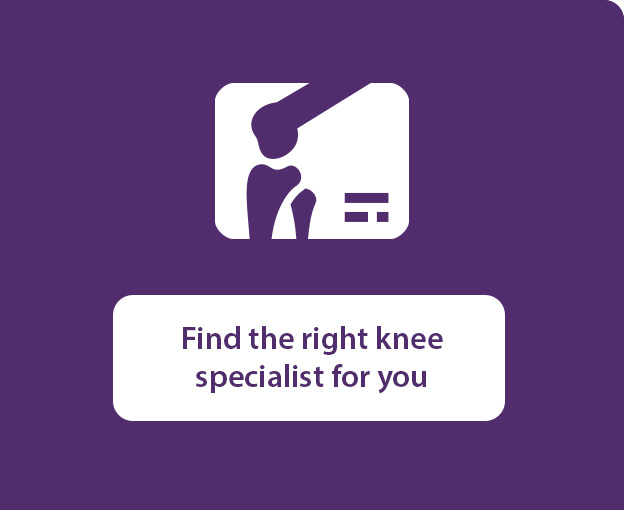 Find the right Novant Health knee specialist for you