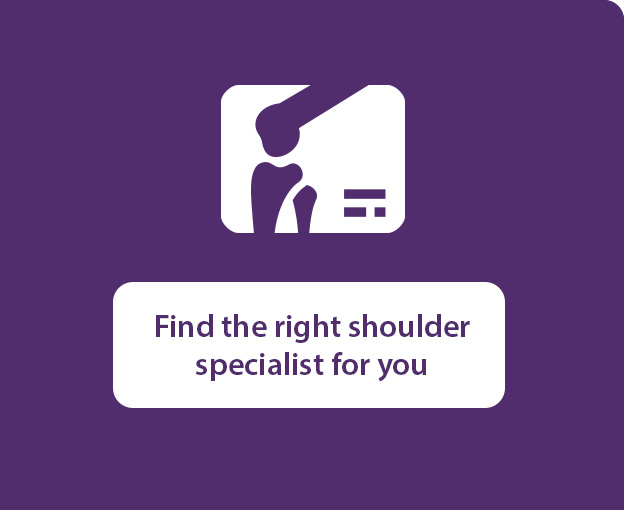Find the right shoulder specialist for you
