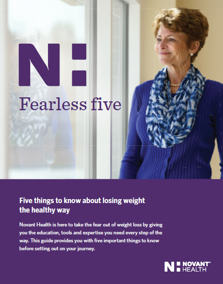 Novant Health weightloss guide